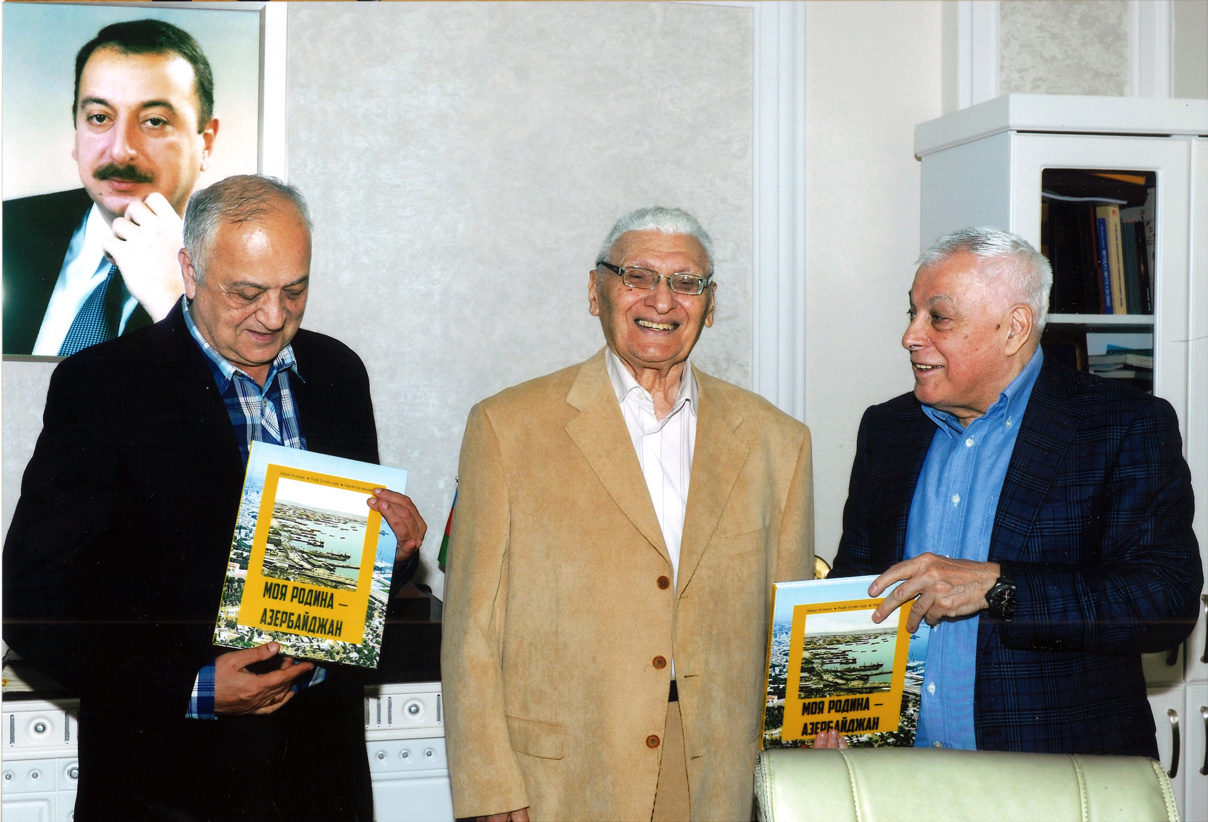 """""""Azərbaycan Milli Ensiklopediyası"""" Elmi Mərkəzində tarixçi alimlə görüş"""